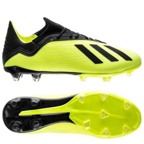 Adidas X18.2 fg m foci cipő DB2180 Cipők