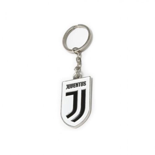 Juventus kulcstartó címeres pajzs Szurkolói relikviák